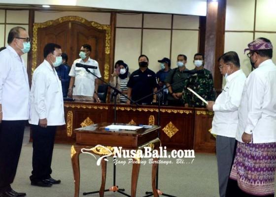 Nusabali.com - jusuf-kalla-lantik-pengurus-pmi-bali-2020-2025