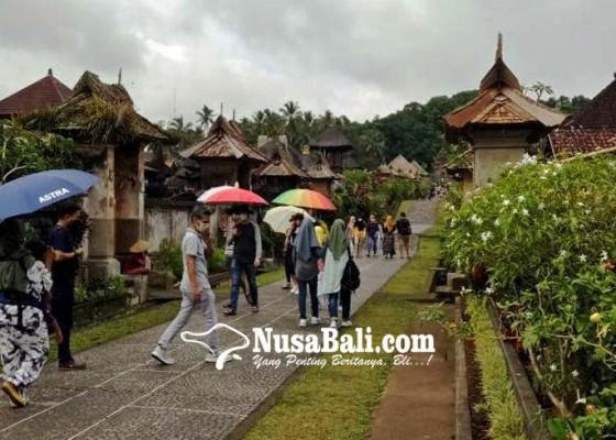 Nusabali.com - pengunjung-desa-penglipuran-bebas-retribusi