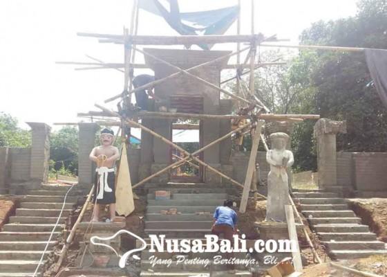 Nusabali.com - pura-agung-datu-magintir-datangkan-tukang-dari-bali