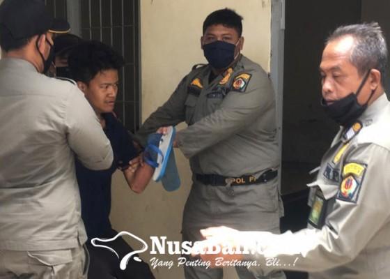Nusabali.com - satpol-pp-amankan-pengamen-dan-orang-linglung