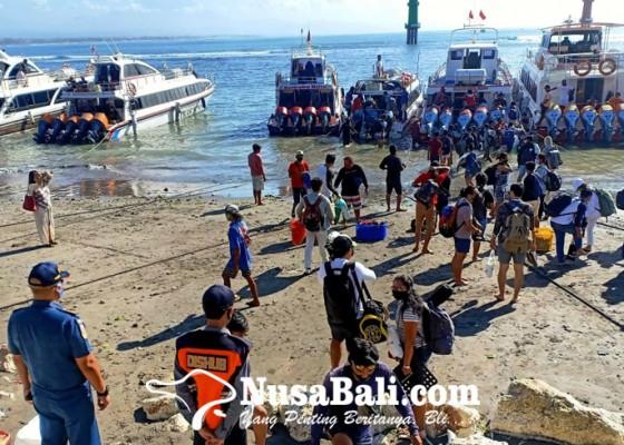 Nusabali.com - penyeberangan-sanur-nusa-penida-meningkat-60-persen