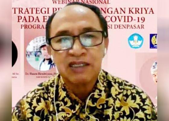 Nusabali.com - isi-denpasar-diskusi-pengembangan-kriya-di-era-pandemi