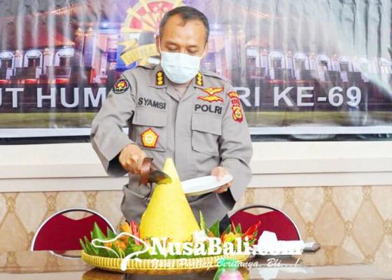 Nusabali.com - divisi-humas-polri-rayakan-hut-ke-69