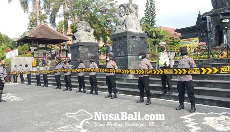 www.nusabali.com-aksi-damai-demo-awk-di-klungkung-dijaga-ketat-pengamanan-berlapis