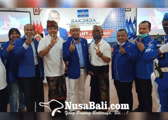 Nusabali.com - demokrat-bali-panaskan-mesin-partai-paslon-6-kabupaten-dan-kota-dikumpulkan