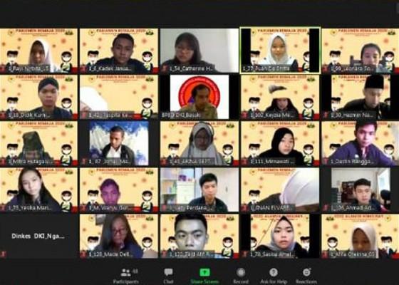 Nusabali.com - pandemi-covid-19-kunker-parlemen-remaja-digelar-virtual
