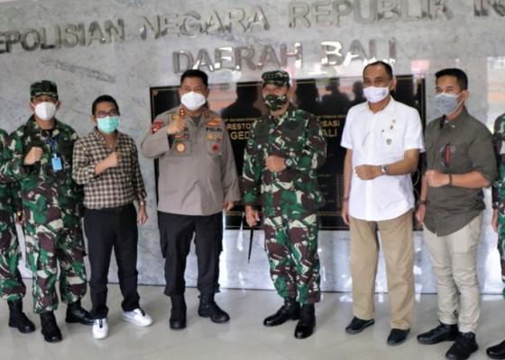 Nusabali.com - kapolda-bali-terima-kunjungan-letjen-tni-amputranto-bersama-pengurus-imi-bali-ntb-dan-ntt