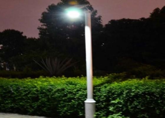 Nusabali.com - lampu-taman-di-bangli-banyak-rusak
