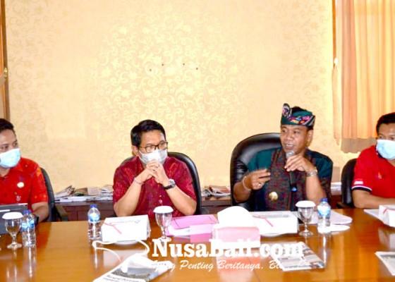 Nusabali.com - pjs-bupati-badung-konsultasi-ke-kemenparekraf-ri
