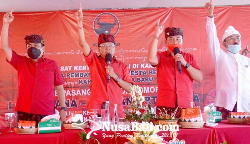 www.nusabali.com-kampanyekan-dana-dipa-koster-menggebrak-kecamatan-kubu