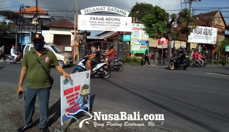 www.nusabali.com-sidak-disiplin-pemakaian-masker-di-desa-adat-peguyangan-kangin-denpasar-utara