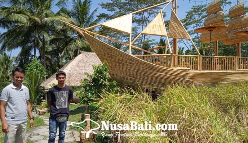 www.nusabali.com-dilengkapi-perahu-bambu-dan-rumah-bali-nguni-sebagai-ikon