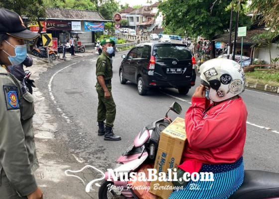 Nusabali.com - tim-yustisi-prokes-kota-denpasar-jaring-19-warga