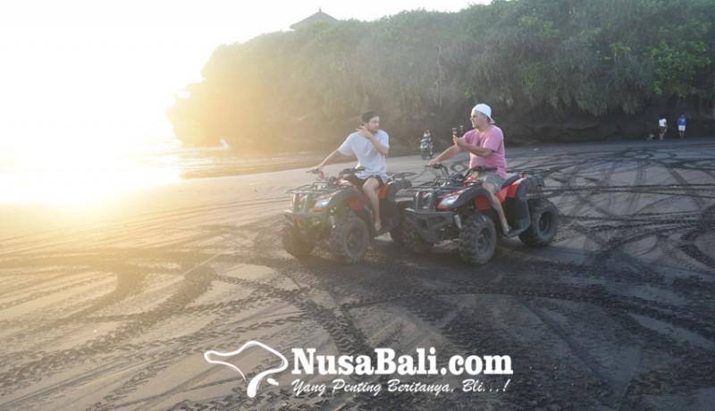 www.nusabali.com-wisata-atv-bupda-desa-kelating-nikmati-panorama-sawah-dan-sunset