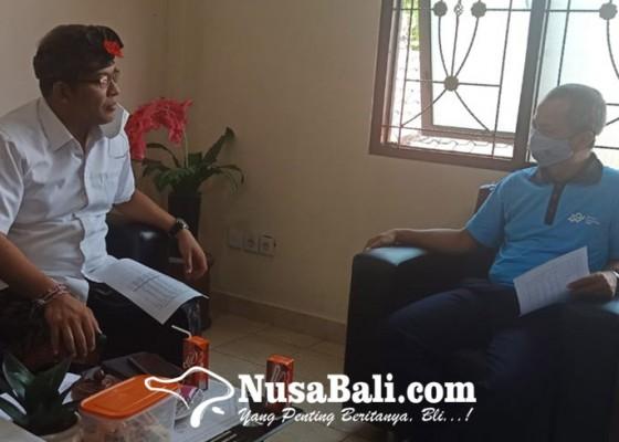 Nusabali.com - ngurah-ambara-datangi-kantor-bps