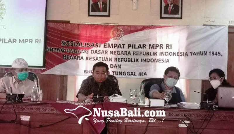 www.nusabali.com-bpbd-bali-ikuti-sosialisasi-empat-pilar-mpr-ri