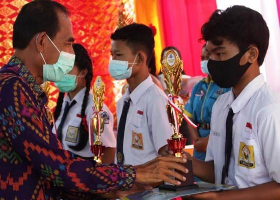 Nusabali.com - peringatan-hut-ke-5-smk-ti-bali-global-gelar-aneka-lomba
