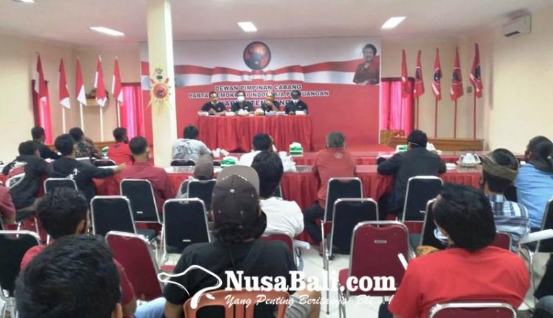 www.nusabali.com-pdip-bangli-mulai-gembleng-ribuan-saksi-pilkada