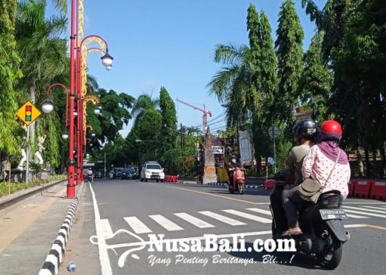 Nusabali.com - pandemi-hut-kota-gianyar-sederhana