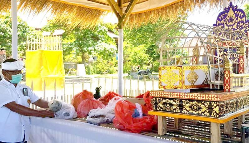 www.nusabali.com-disbud-badung-gelar-upacara-ngeringkes-jelang-ngaben-bikul