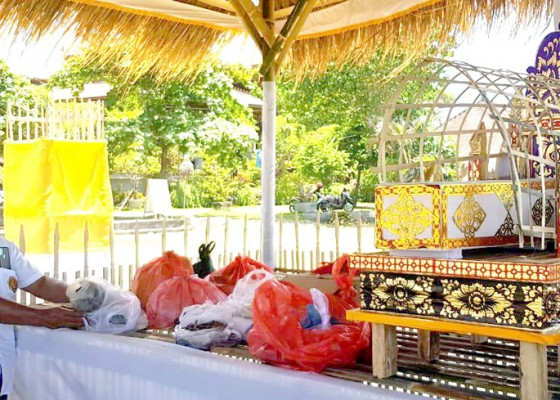 Nusabali.com - disbud-badung-gelar-upacara-ngeringkes-jelang-ngaben-bikul