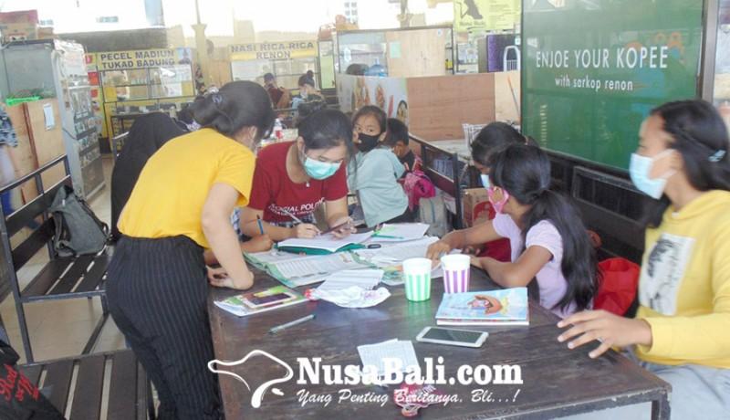 www.nusabali.com-kawasan-kuliner-berubah-jadi-kelas-belajar