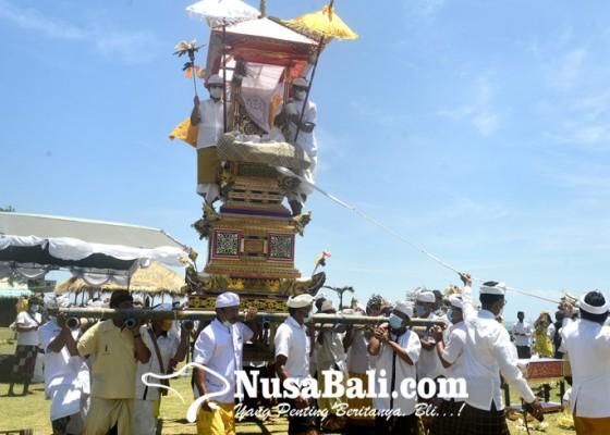 Nusabali.com - ngaben-besar-pertama-dalam-9-tahun-digelar-untuk-tangkal-hama-tikus