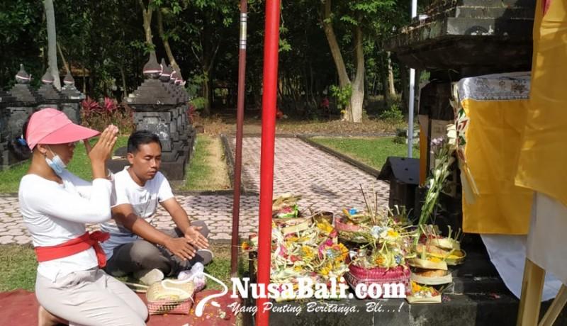 www.nusabali.com-puputan-margarana-ratusan-keluarga-pejuang-gelar-tradisi-mamunjung