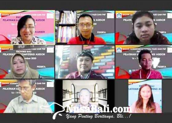 Nusabali.com - ban-paud-gelar-pelatihan-uji-kompetensi-asesor