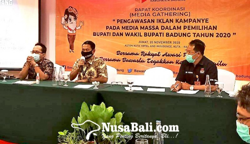 www.nusabali.com-bawaslu-badung-awasi-iklan-paslon-di-media-massa