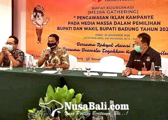 Nusabali.com - bawaslu-badung-awasi-iklan-paslon-di-media-massa