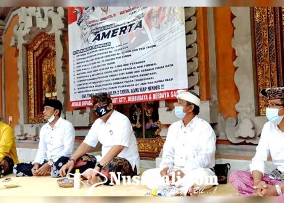 Nusabali.com - terjun-di-kelurahan-padangsambian-amerta-janjikan-perubahan