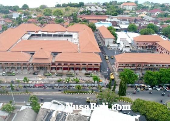 Nusabali.com - pasar-banyuasri-digaransi-anti-banjir