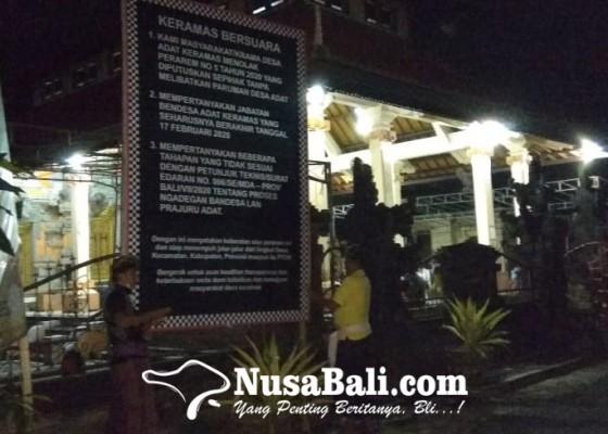 Nusabali.com - krama-delod-peken-tolak-pararem-ngadegang-bendesa