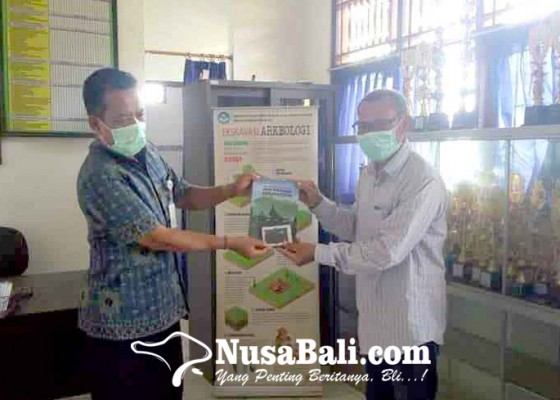 Nusabali.com - balai-arkeologi-bantu-smpn-6-amlapura