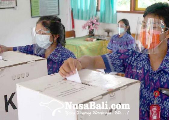 Nusabali.com - empat-kandidat-tarung-ketua-osis-sman-1-amlapura