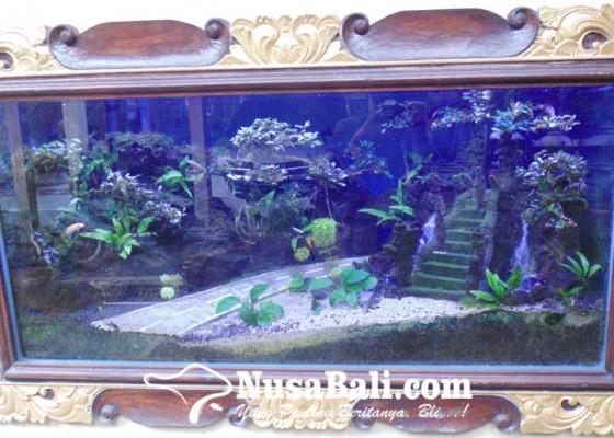Nusabali.com - miniatur-pura-khas-bali-dalam-aquascape