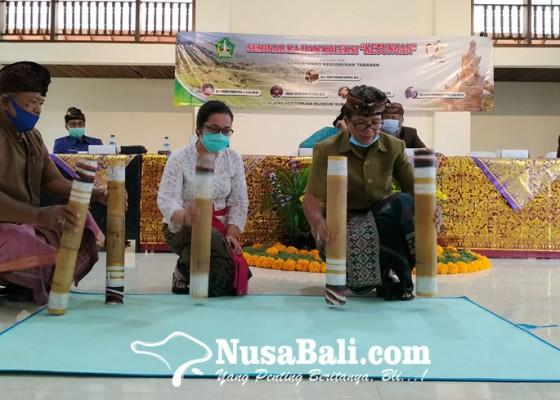 Nusabali.com - agar-tak-punah-ketungan-diseminarkan