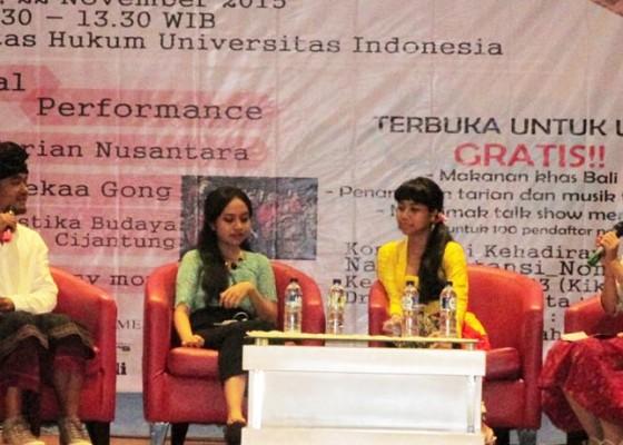Nusabali.com - kmhd-ui-gelar-acara-bertemakan-hindu-untuk-indonesia