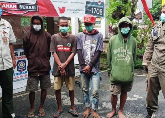 Nusabali.com - nyelundup-ke-bali-4-remaja-diamankan