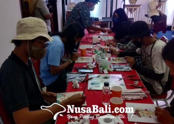 Nusabali.com - bongkar-rahasia-seni-lukis-keramik-di-denpasar-festival