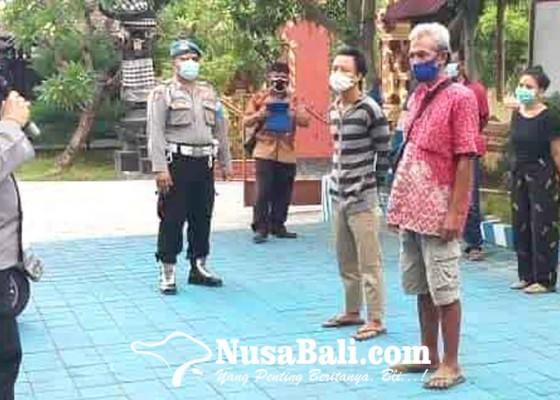 Nusabali.com - polsek-kubu-jaring-pemotor-tak-pakai-helm