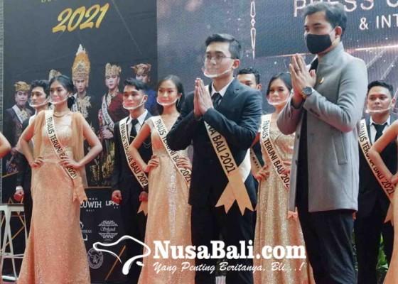 Nusabali.com - perkenalan-top-9-teruna-teruni-bali-2021