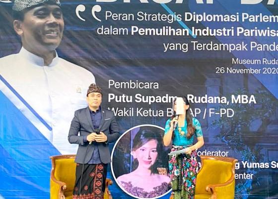 Nusabali.com - wakil-ketua-bksap-dpr-dorong-dibukanya-travel-bubble
