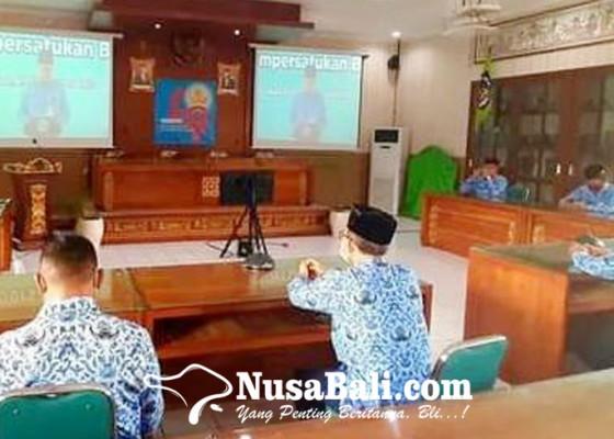 Nusabali.com - puncak-hut-korpri-digelar-melalui-video-conference