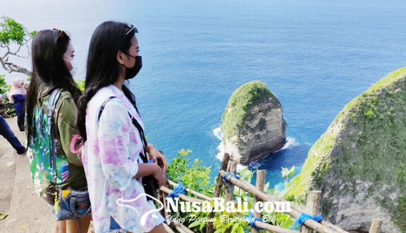 www.nusabali.com-pantai-kelingking-kian-diburu-wisatawan