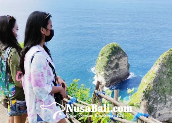 Nusabali.com - pantai-kelingking-kian-diburu-wisatawan