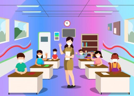 Nusabali.com - januari-2021-klungkung-terapkan-pembelajaran-tatap-muka