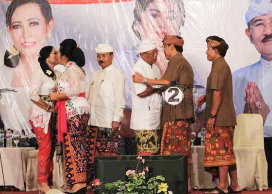 Nusabali.com - debat-publik-tiga-paket-calon-dari-karangasem