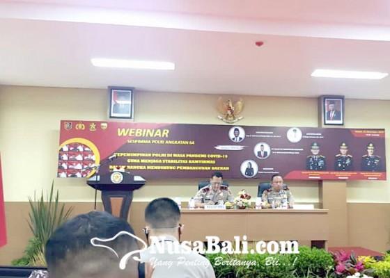 Nusabali.com - gelar-webinar-kepemimpinan-polri-di-tengah-pandemi